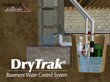 basement water system basement waterproofing