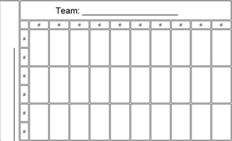 2015 Football Office Pool Sheets Square Template For Superbowl 2015 New Calendar Template