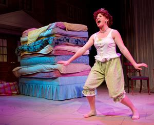 Minstrel Once Upon A Mattress by Illinois Wesleyan School Of Theatre Arts To Present Once