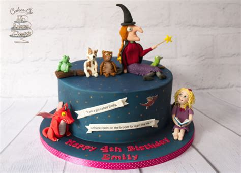 the cake room room on the broom birthday cake cake by cakes by no more tiers fiona brook cakesdecor