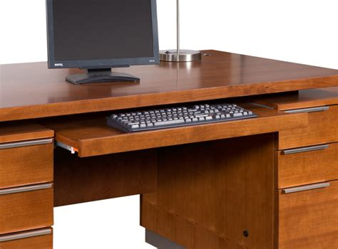 monterey cherry office furniture executive desk