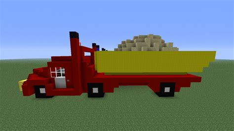 minecraft truck trucks minecraft project