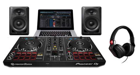 Pioneer Ddj Rb 2 Deck Rekordbox Dj Controller Best Seller pioneer dj starter pack with ddj rb controller dm 40 speakers hdj 700 r headphones