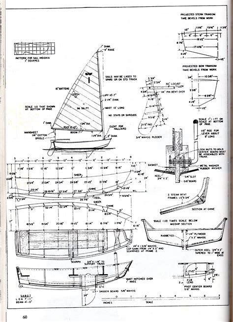 scow dinghy plans kayak buid diy may 2016