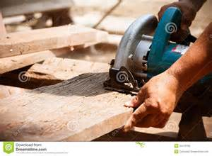 Home Floor Plans Tool electric saw cutting wood royalty free stock image image