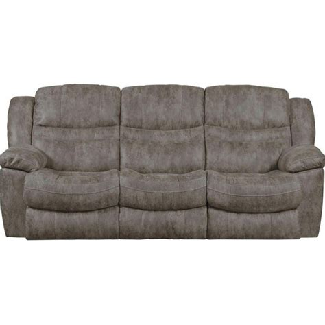 Reclining Sofa With Table Catnapper Valiant Power Reclining Sofa With Drop Table In Marble 614045124858280039