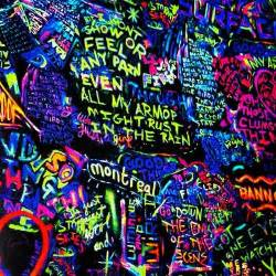 coldplay colors coldplay glow in the lyric graffiti awesome