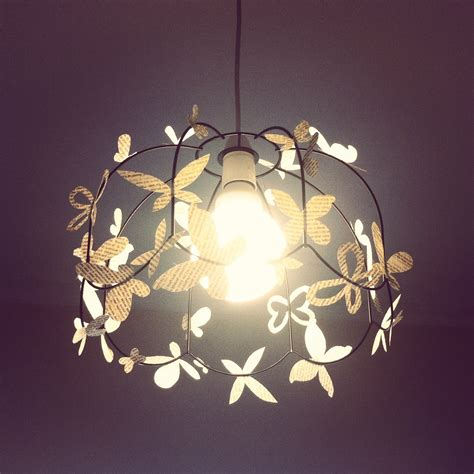 Easy Diy Light Shade Productsofprocrastination Diy Ceiling Lights