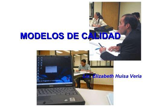 modelo de calidad comparacion de modelos de calidad