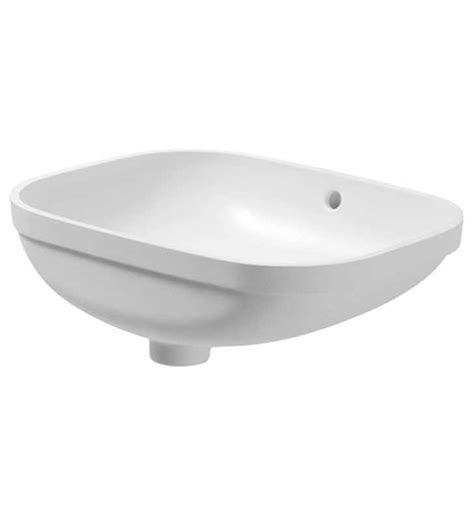 duravit bathroom sink duravit 0338560000 d code 22 inch undermount bathroom sink