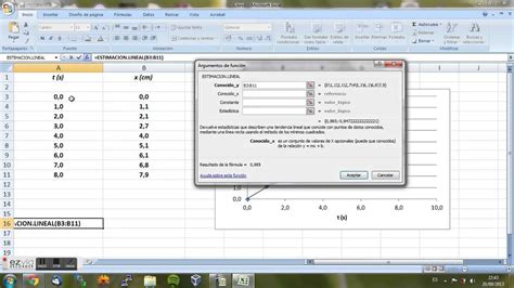 excel minimos cuadrados ajuste por minimos cuadrados con excel youtube