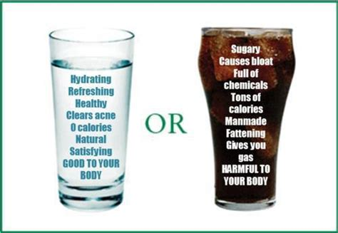 soda vs water tooth decay the sugar from