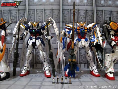 mobile suit gundam wing gundams a creative mind mobile suit gundam wing gundam units