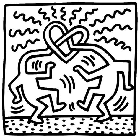 keith haring figure templates keith haring figure templates printable 128 best artista
