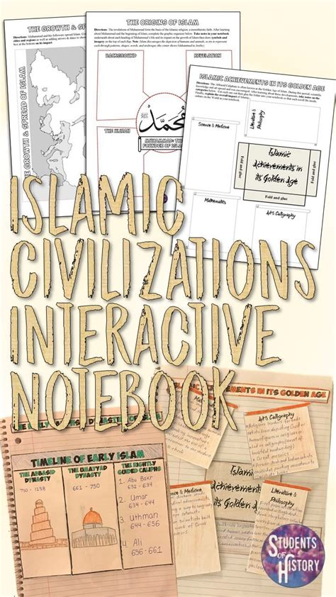 Notebook I Islam engaging set of interactive notebook activities for islam
