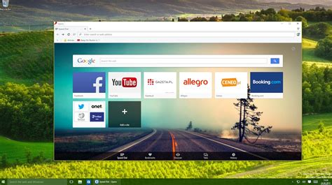 web software for windows opera browser for windows 10