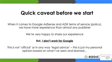 adsense how it works how google adsense policy is actually enforced