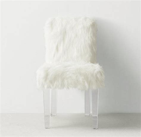 white fur desk chair pink faux fur cabriole legs desk chair