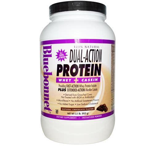 Whey Casein Bluebonnet Nutrition Dual Protein Whey Casein