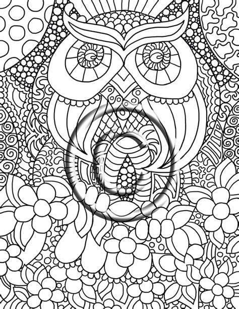 animal zendoodle coloring pages animal zendoodle coloring pages