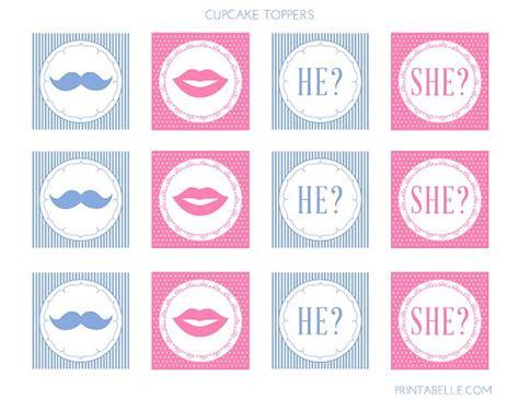 Gender Reveal Printable