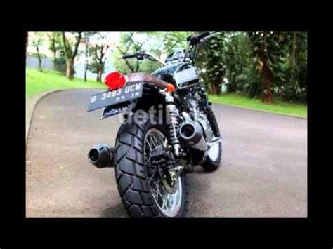 Helm Catok Retro Motor Klasik Model modifikasi motor suzuki inazuma model retro bergaya jadul nan klasik