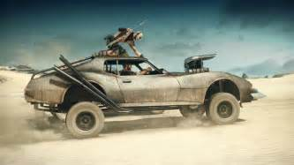 mad max new car new mad max trailer focuses on car customization