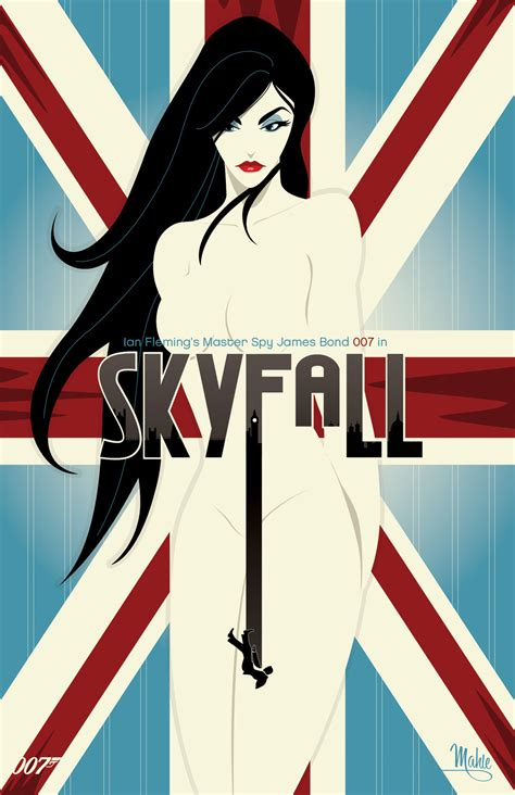 ridiculously amazing  posters  james bond films