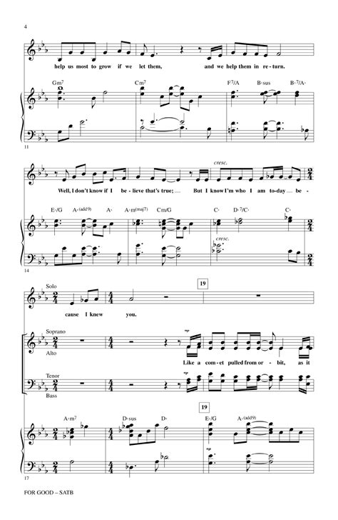 good sheets for good satb by stephen schwartz arr ma j w pepper