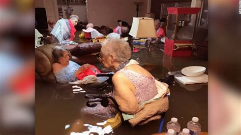 nursing home residents rescued from floods cnn