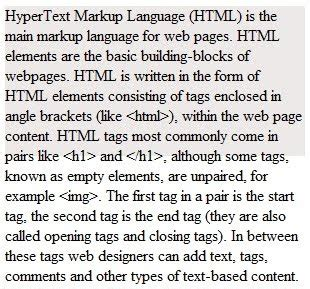 html div overflow programmers sle guide help is on the way what is html