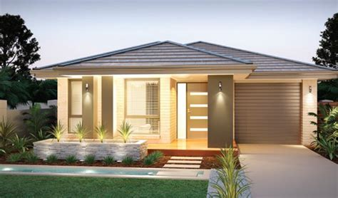 one storey modern house design image result for narrow lot single level small house
