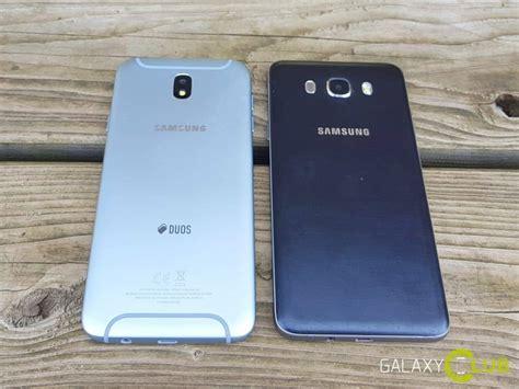 Verus Samsung J7 2016 vergelijking galaxy j7 2017 versus j7 2016 verschillen