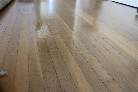 diy wood floor polish the dabblist