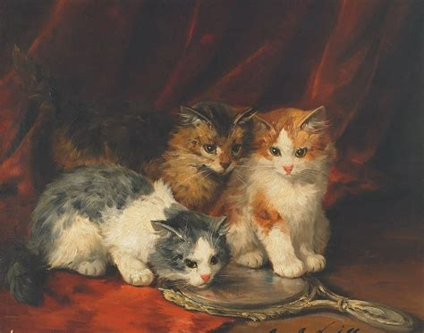 painting cats painted painting reproduction on canvas of cat