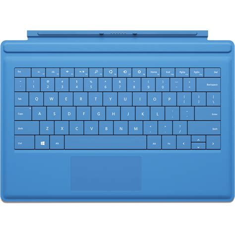 windows surface type cover microsoft surface pro 3 type cover cyan