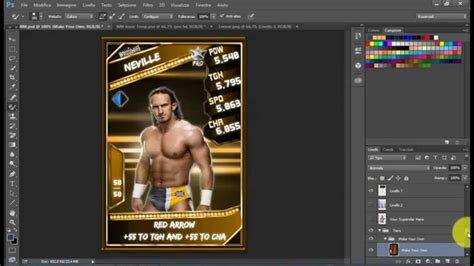 Wm 33 Card Template by Supercard Custom Cards Ep 3 New Card And Wm