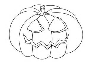 jack o lantern head on halloween day coloring page