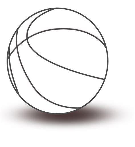 basketball clipart black and white basketball clipart black and white clipart panda