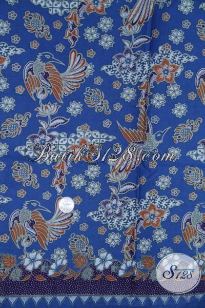 Kain Batik Garutan Warna Biru kain batik motif burung warna biru elegan k1234p toko batik 2018