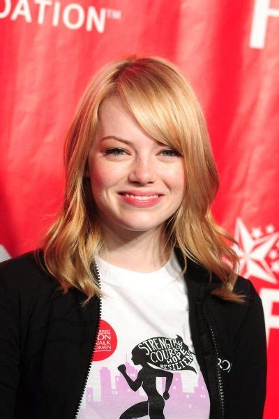 emma stone we re gonna bang 13 best haircut ideas images on pinterest hairdos long