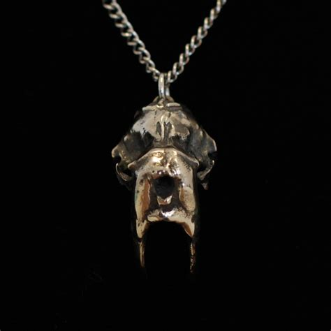 The Room Jewelry by Walrus Skull Necklace
