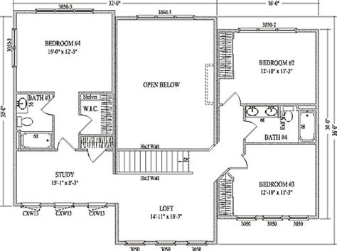 raynesford by wardcraft homes two story floorplan