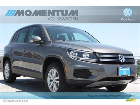 2012 pepper gray metallic volkswagen tiguan le 64289532 gtcarlot car color galleries