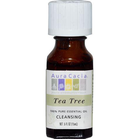 Tea Tree Aromatherapy Essential 15ml Bathaholic aura cacia 100 essential tea tree 5 fl oz 15 ml iherb