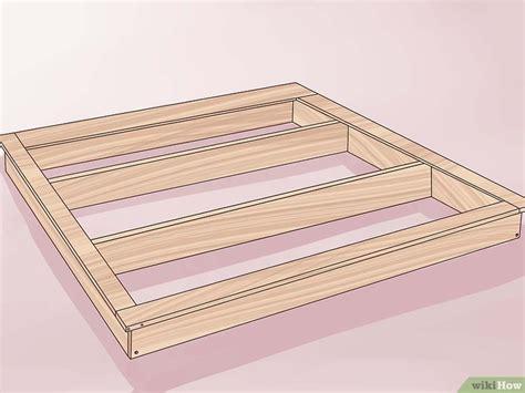 costruire un letto in legno 3 modi per costruire un telaio per letto in legno