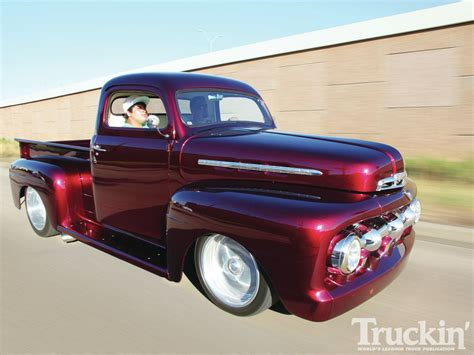 Good Color Schemes by 1951 Ford F1 The Forgotten One Classic Truck Truckin