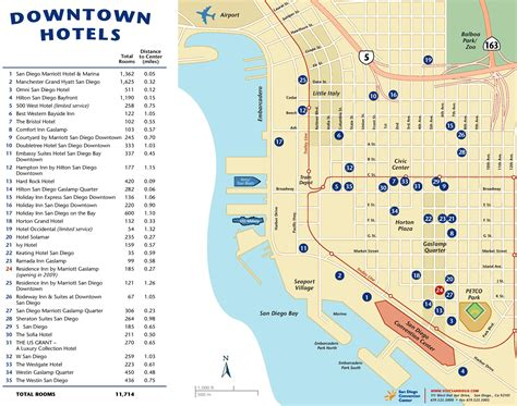 hotels in san francisco map downtown san diego hotel map