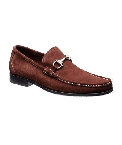 salvatore ferragamo nubuck bit loafer dress shoes
