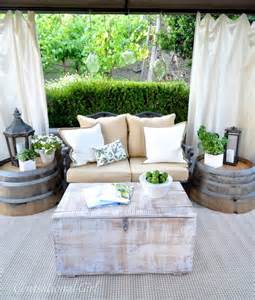 deck decor traditional patio